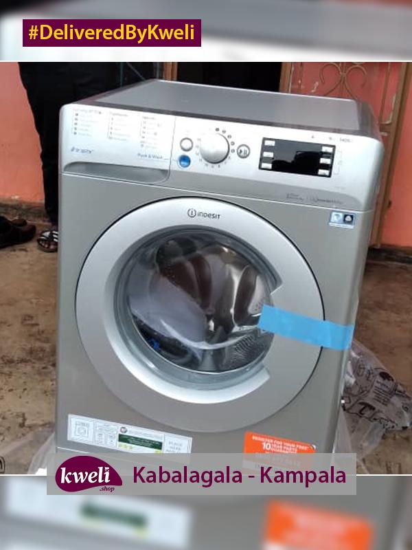 Indesit Washing Machine Delivered in Kabalagala DeliveredByKweli