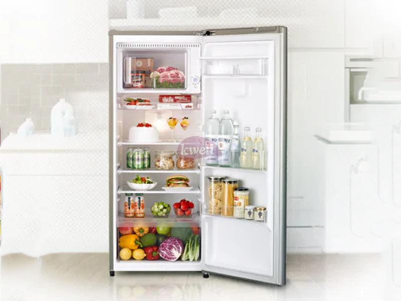 LG 170-liter Refrigerator GN-Y201SLBB; Single Door, Smart Inverter Compressor, Large Capacity Freezer, Big Vegetable Box, Semi Auto Defrost LG Fridges LG Fridge