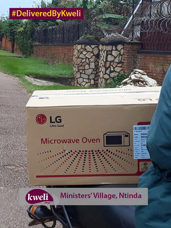 Microwave Delivered in Ntinda DeliveredByKweli