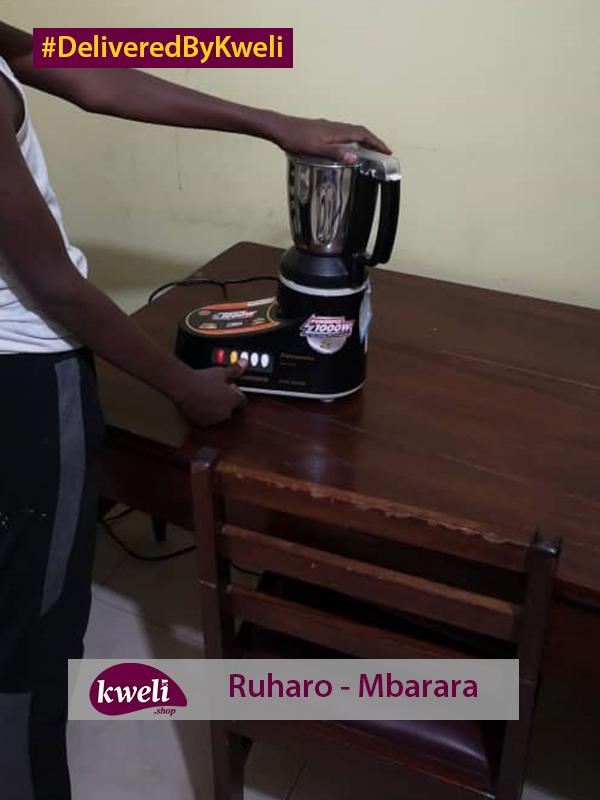 Panasonic Mixer Grinder Delivered in Mbarara DeliveredByKweli-2