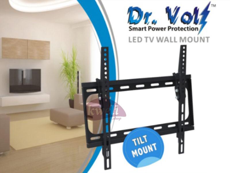 Dr Volt TV Wall Mount (Choose TV Size) Home Entertainment