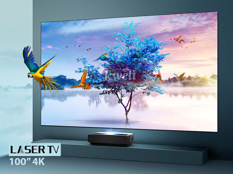Hisense 100 Inch Laser TV HE100L5 – 4K Smart TV,  X-Fusion™ Laser Light Source, Tuner Built- in, Dolby ATMOS Audio, Powered by VIDAA OS 4K UHD Smart TV