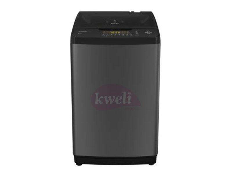 Hisense 11kg Top Load Washing Machine – WTCS1102T; Auto Power off, Bubble Clean, Tub Clean Top Load Washers Hisense Washing Machines in Uganda