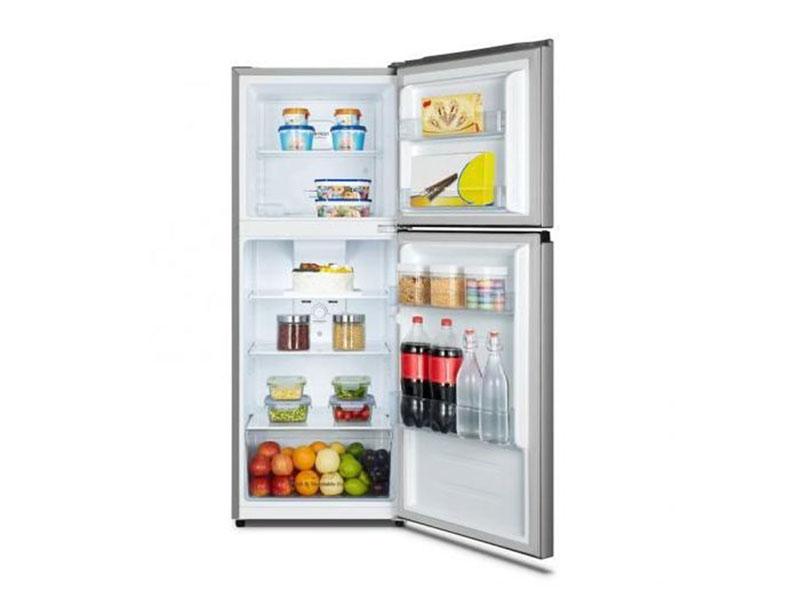 Hisense 266-liter Fridge, Frost-free Top Mount Freezer, Double Doors – RT266N4DGN Double Door Fridges Double door fridge