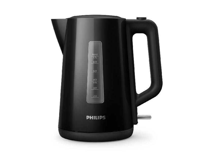 Philips Plastic Kettle Orbit HD9318/21 (Black) – 1.7-liters, automated lid, 2200 watts Electric Kettles Electric Kettles