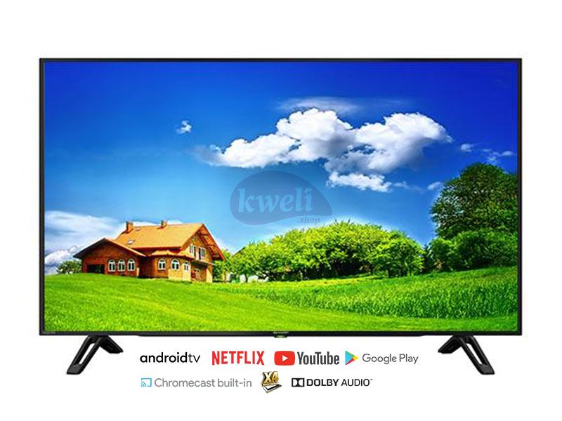 Sharp 60 inch 4K UHD Android TV 4T-C60CK1X – Over 5,000 Apps, 4K Upscale, Bluetooth, Chromecast built-in, Smart TV 4K UHD Smart TV