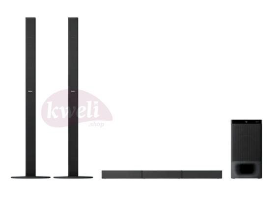 Sony 5.1ch Home Cinema Soundbar System with Bluetooth, 2 Tallboy Speakers,1000 watts, Dolby® Digital Audio, DTS Surround Sound | HT-S700RF SoundBars