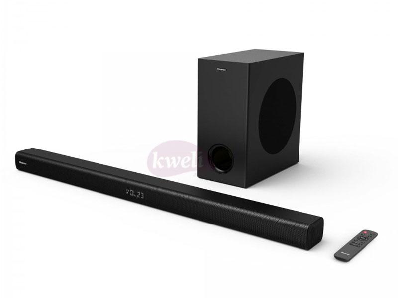 Hisense 2.1Ch Soundbar with Wireless Subwoofer HS218 – 200 watts, Bluetooth, DOLBY Audio, SoundBars
