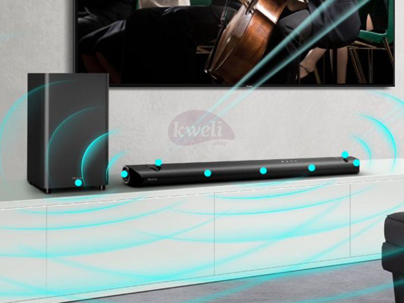 Hisense 5.1.2Ch Soundbar with Dolby Atmos – 500 watts, Bluetooth, DOLBY Audio SoundBars