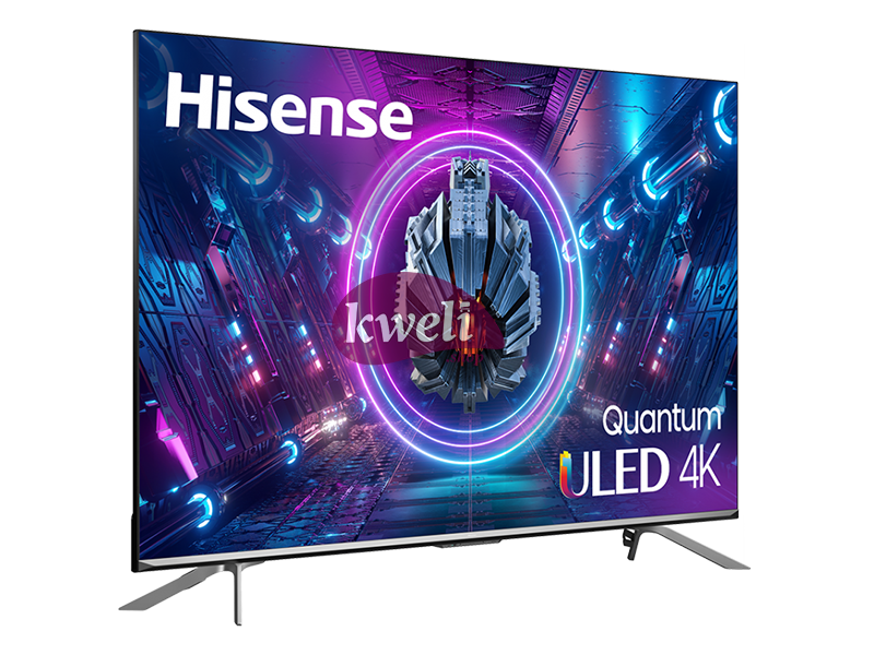 Hisense 55 inch 4K ULED Smart TV 55U7G – Frameless Quantum Dot Colour, Dolby Atmos, Voice Control, Vidaa Smart TV, Bluetooth, HDMI, USB, Netflix and Youtube One Touch 4K ULED Smart TVs